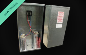 R500 - packaged capacitor
